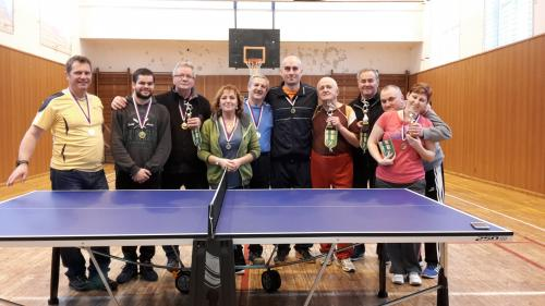 Stolnotenisový turnaj 16.12.2017