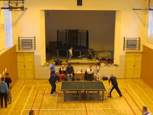 Stolnotenisový turnaj 11.12.2016